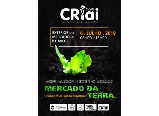 CRIAI e Mercado da Terra_6 de julho no Mercado de Ílhavo