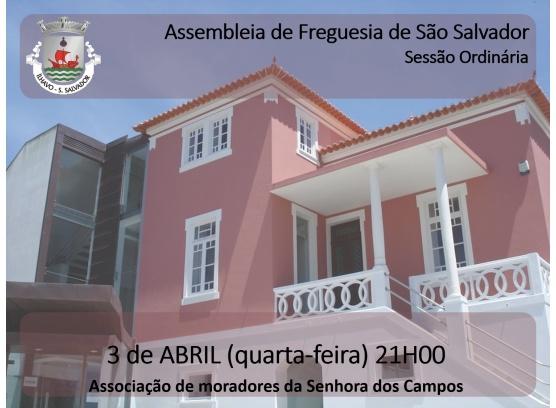 Assembleia de Freguesia de Abril 2019 na Associação de Moradores da Senhora dos Campos