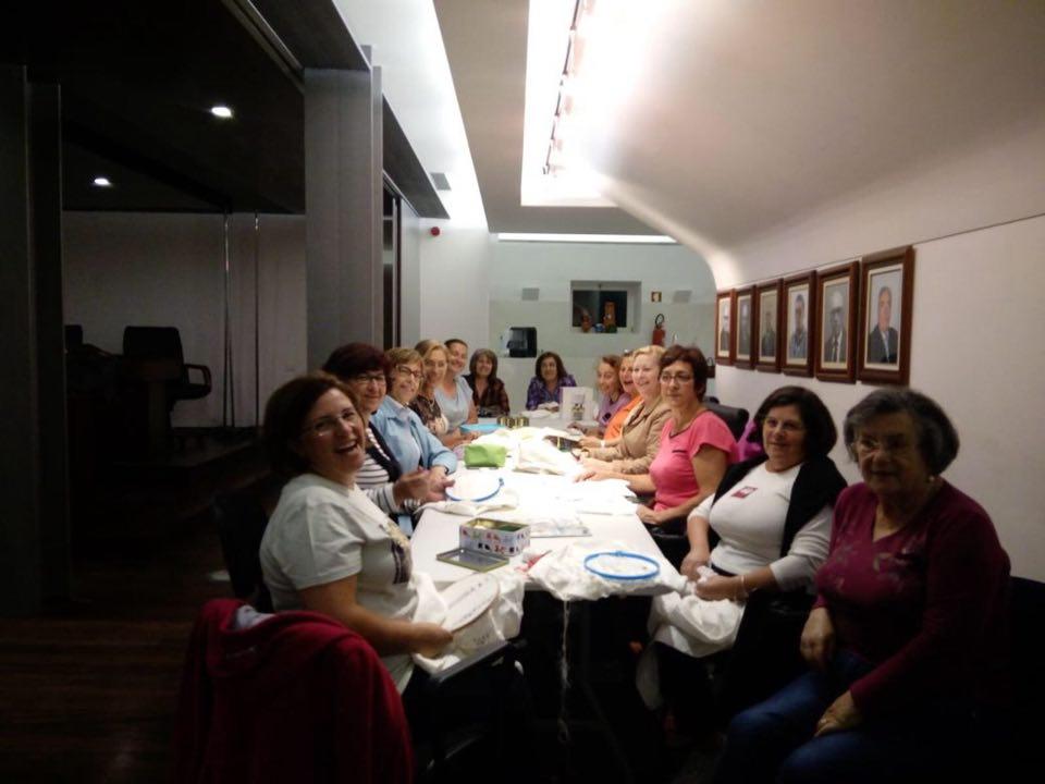 Formação de Bordados decorre na Junta de Freguesia de São Salvador