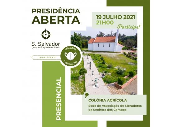 Presidência Aberta da Colónia Agrícola2021
