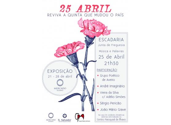 Comemoração do 25 de abril
