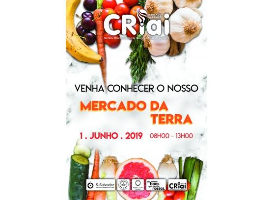 CRIAI e Mercado da Terra_1 de junho no Mercado de Ílhavo