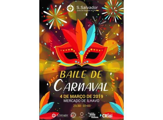 Baile de Carnaval da Freguesia de São Salvador decorre no dia 4 de março