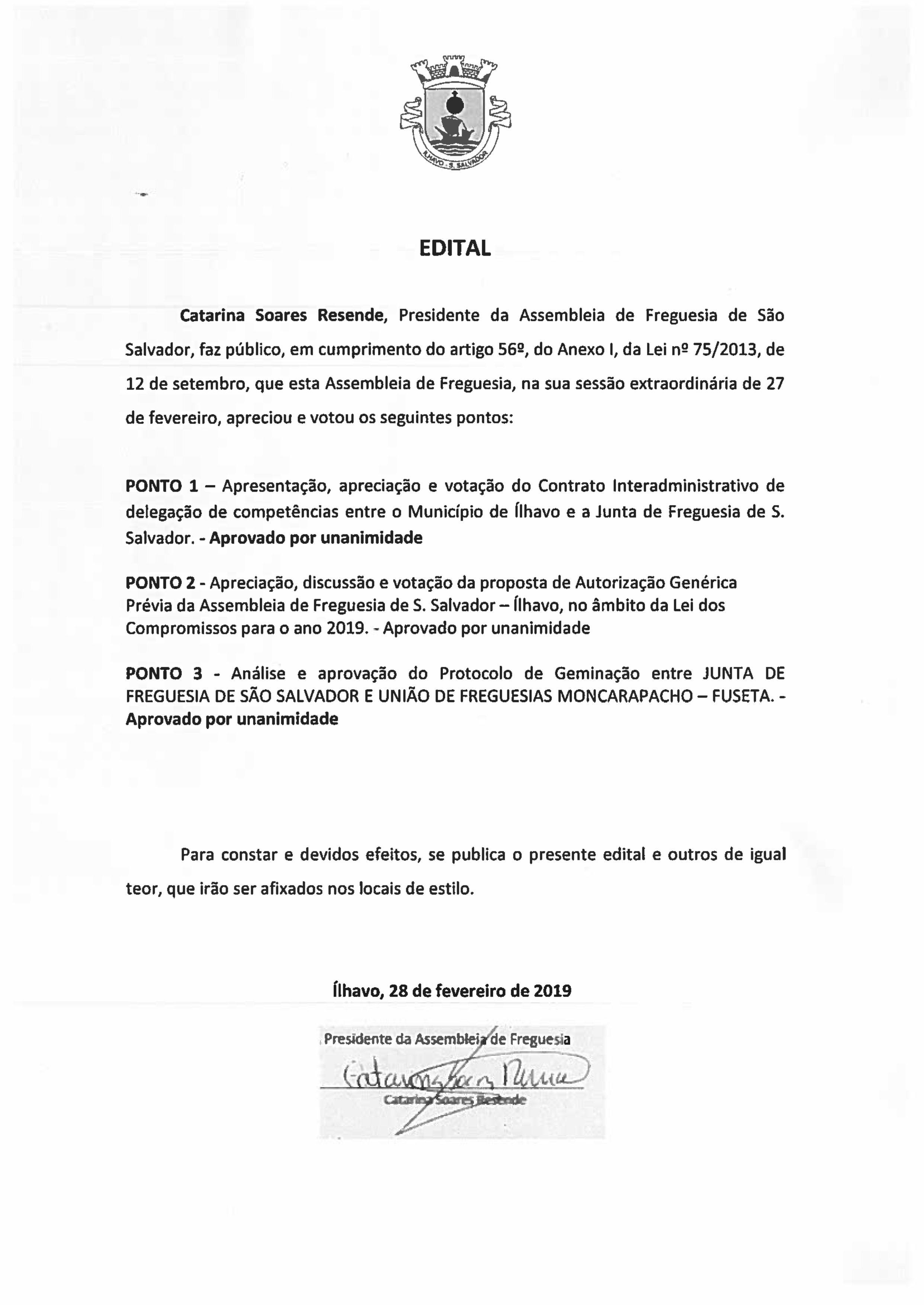 EDITAL DE DELIBERAÇÕES_A.F Extraordinária