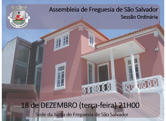 Assembleia de Freguesia _ Dezembro 2018