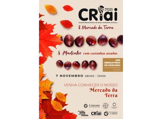 CRIAI + MERCADO TERRA DIA 7 DE NOVEMBRO