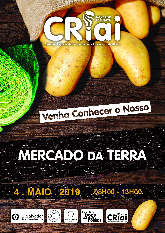 CRIAI e Mercado da Terra_4 de maio no Mercado de Ílhavo