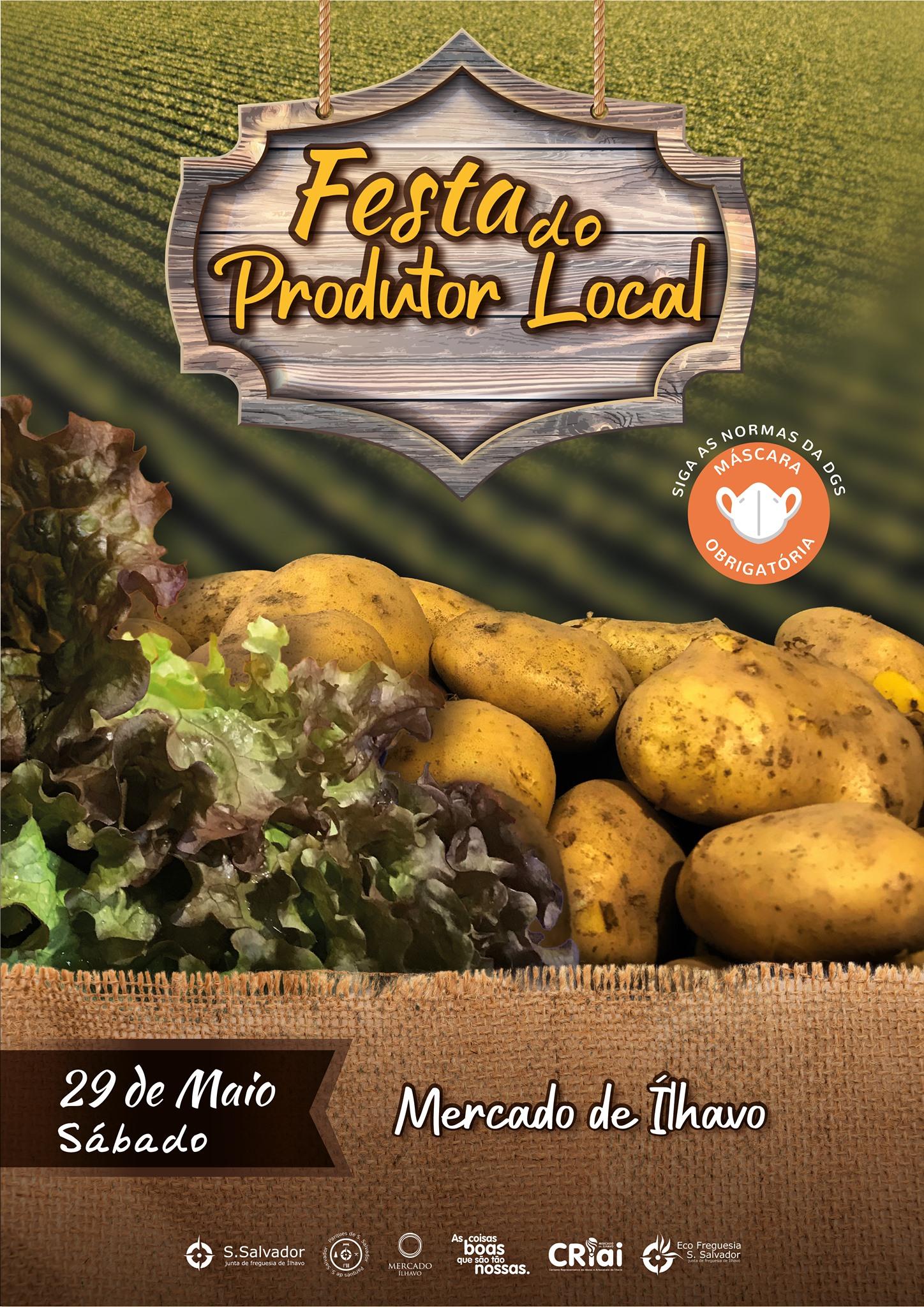 Festa do Produtor Local 29 de maio no Mercado de Ílhavo